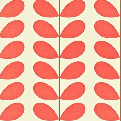 Orla Kiely Wallpaper | Giant Abacus Flower 110408