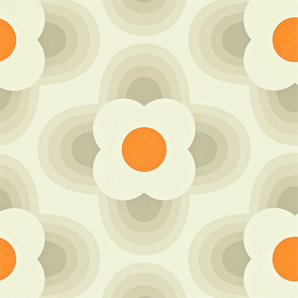 Orla Kiely Wallpaper | Striped Petal 110403