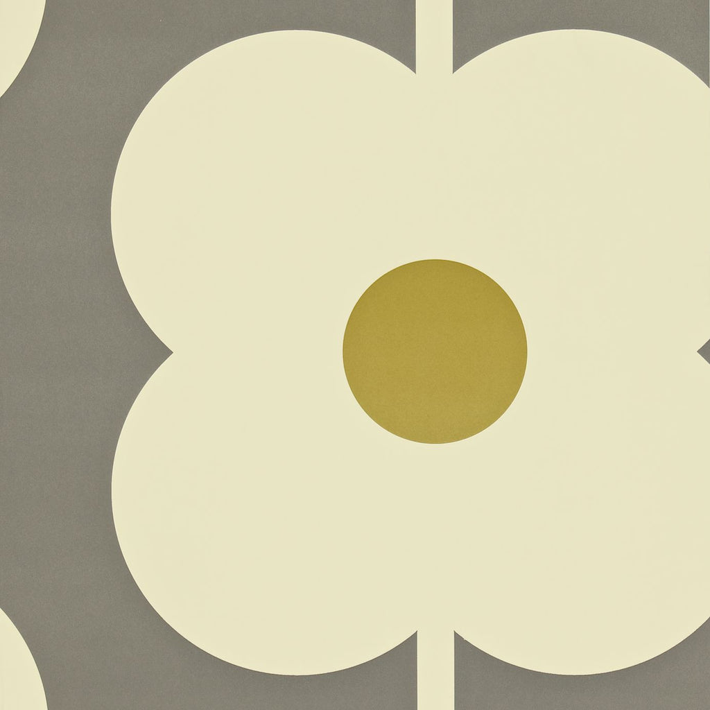 Orla Kiely Wallpaper- Giant Abacus Flower 110409