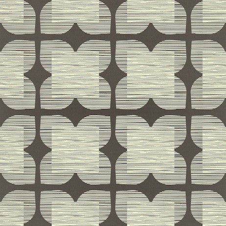 Orla Kiely Wallpaper- Flower Tile 110420
