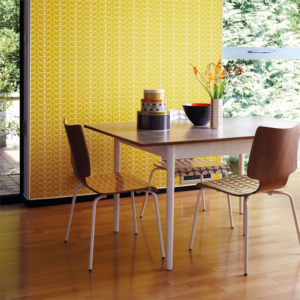 Orla Kiely Wallpaper | Linear Stem 110400 | Australia – Removable Wallpaper Australia