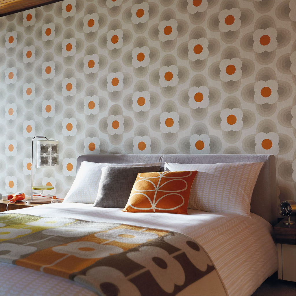Orla Kiely Striped Petal Wallpaper 110403