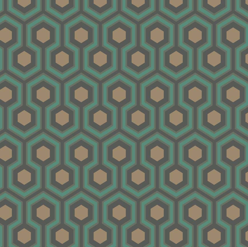 Hicks's Hexagon Wallpaper 95/3018 Cole & Son Contemporary Restyled