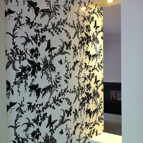 Florence Broadhurst Wallpaper | Shadow Floral FBW-CO58