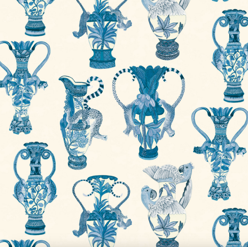Khulu Vases 109/12059 Wallpaper | Cole & Son Ardmore Collection Australia