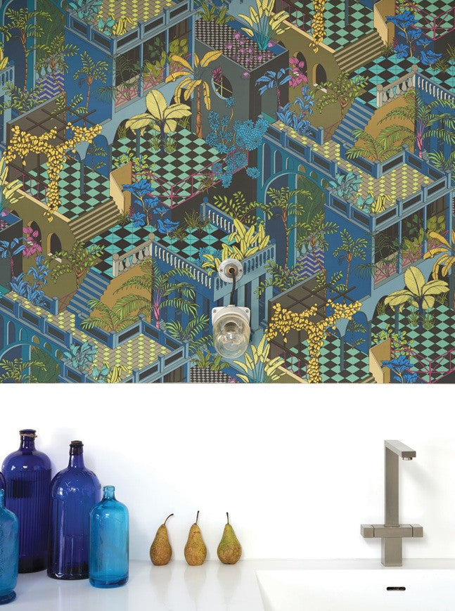 Miami Wallpaper | Cole & Son | Geometric 2