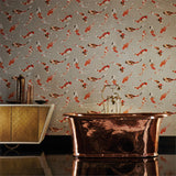 Harlequin Wallpaper Koi 110903 Paprika