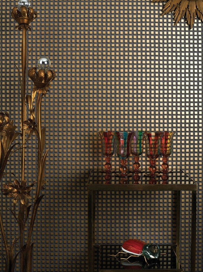 Mosaic 105/3013 Cole & Son Wallpaper | Geometric 2 | Room Shot 2
