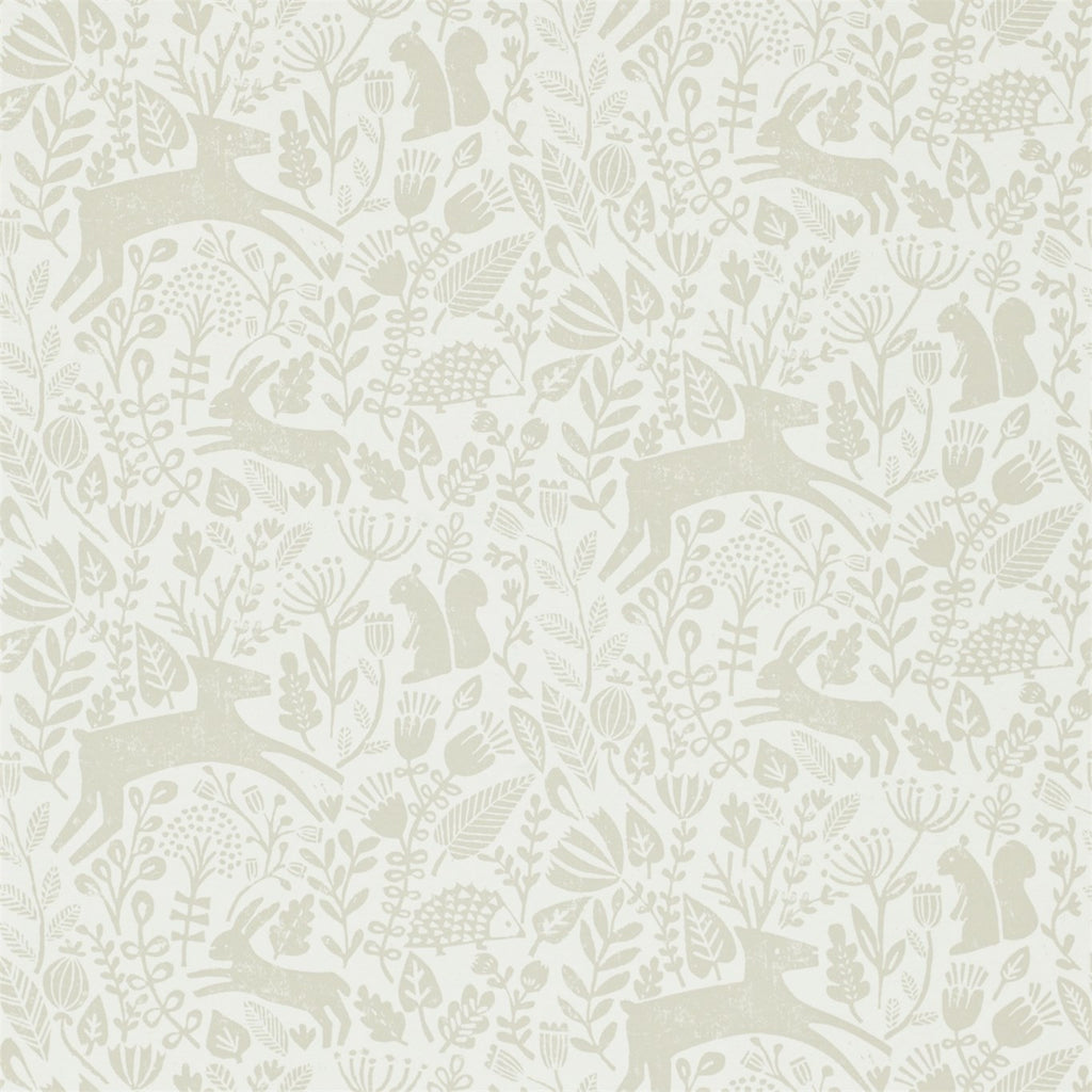 Scion Wallpaper Australia | Kelda 111106 in pebble.