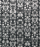 NLXL WALLPAPER STUDIO JOB, WITHERED FLOWERS BLACK