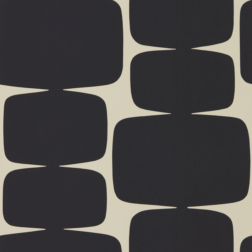Lohko 111290 Wallpaper | Scion Australia (shown in Liquorice)
