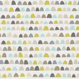 Priya a half moon wallpaper design by Scion | Australia