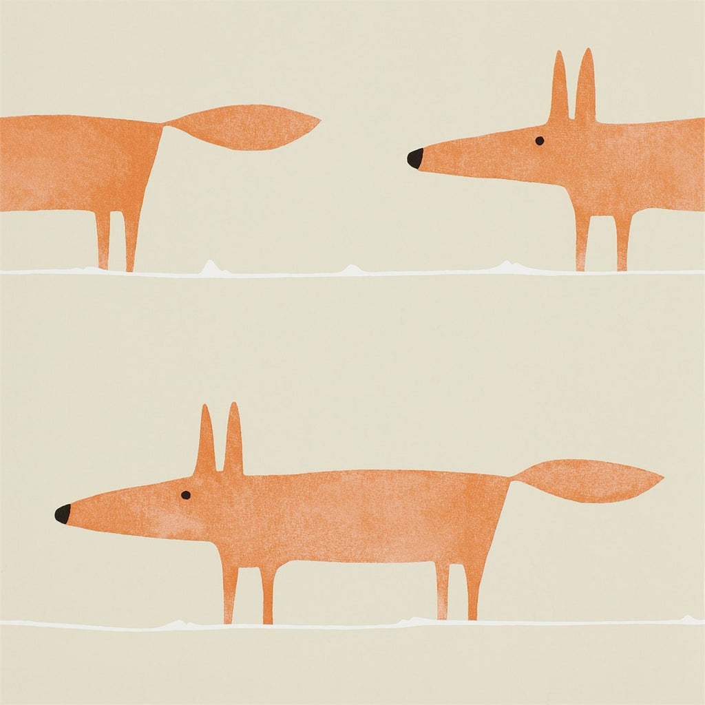 Mr Fox Wallpaper by Scion 110847
