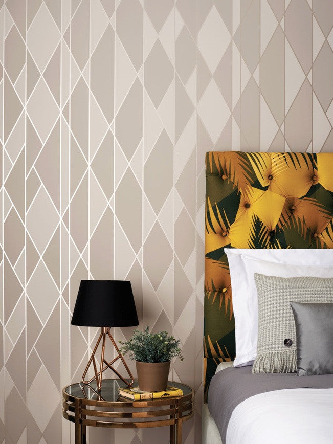 Oblique 105/11046 Cole & Son Wallpaper | Geometric 2 | Room Shot 2