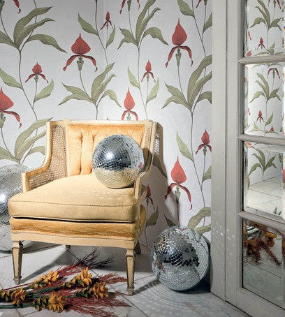 Orchid Wallpaper | Restyled Collection Cole & Son 95/10054 room