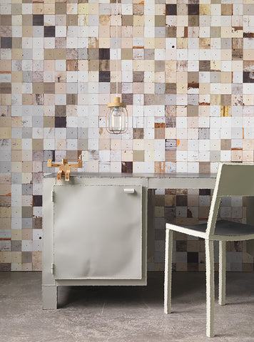 Piet Hein Eek Wallpaper | Scrapwood Wallpaper PHE-09
