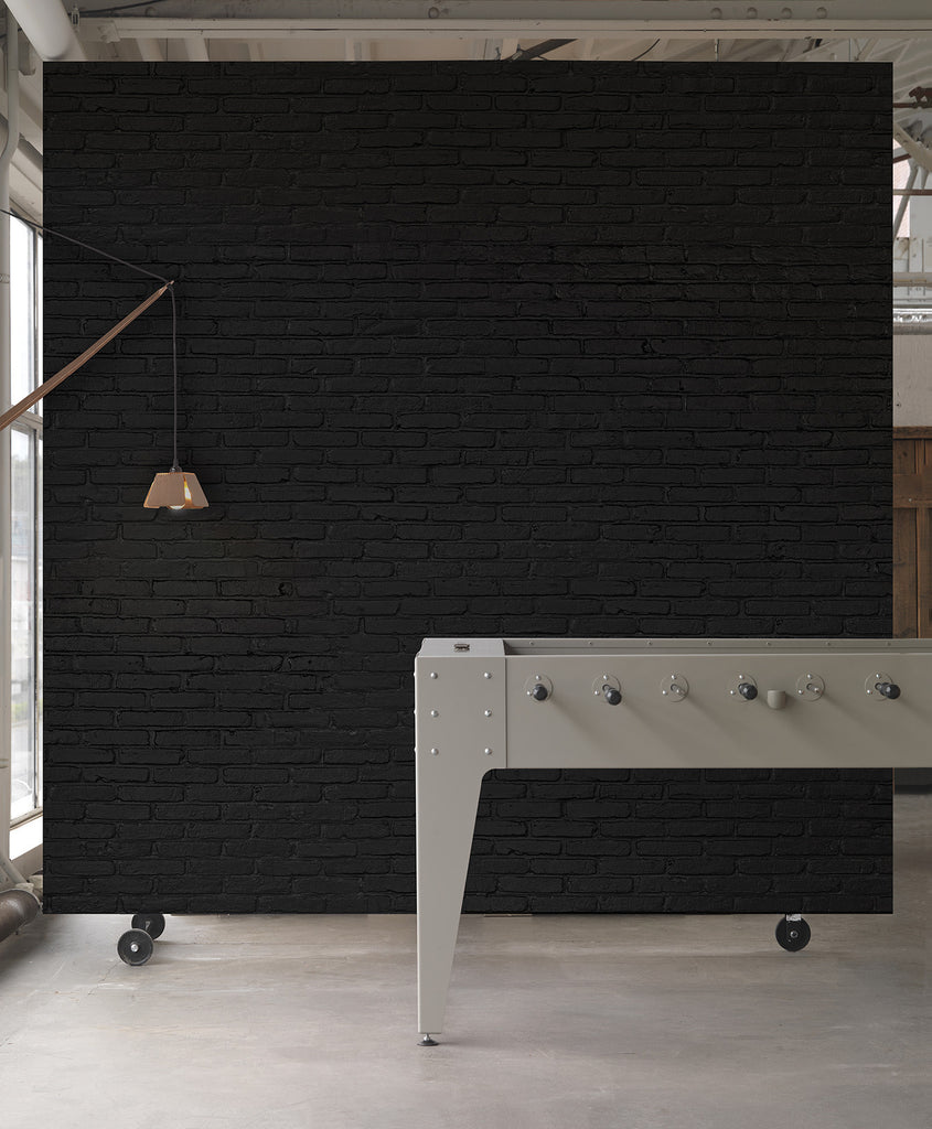 Buy Black Brick Wallpaper in Australia