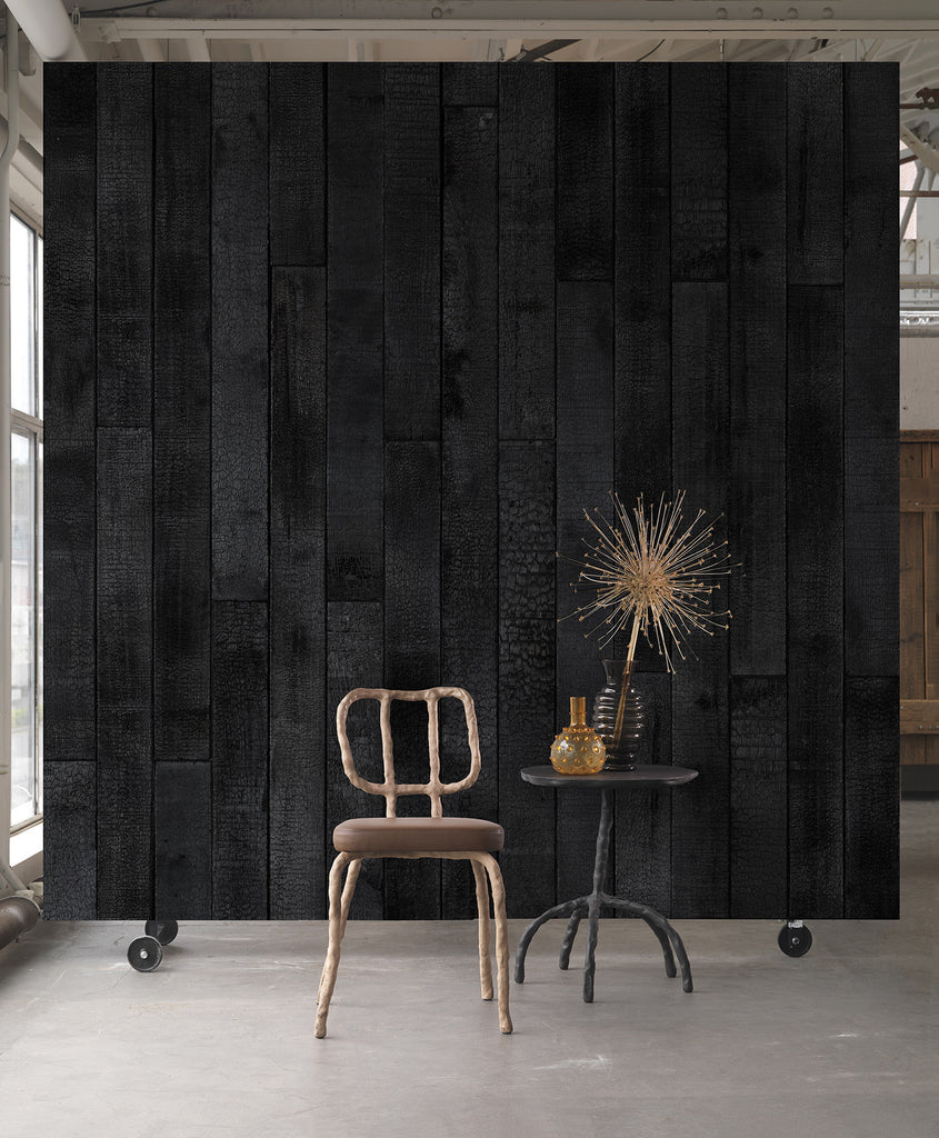 Burnt Wood Wallpaper | Piet Hein Eek & NLXL Australia