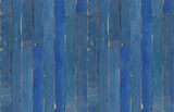 Blue Scrapwood Wallpaper