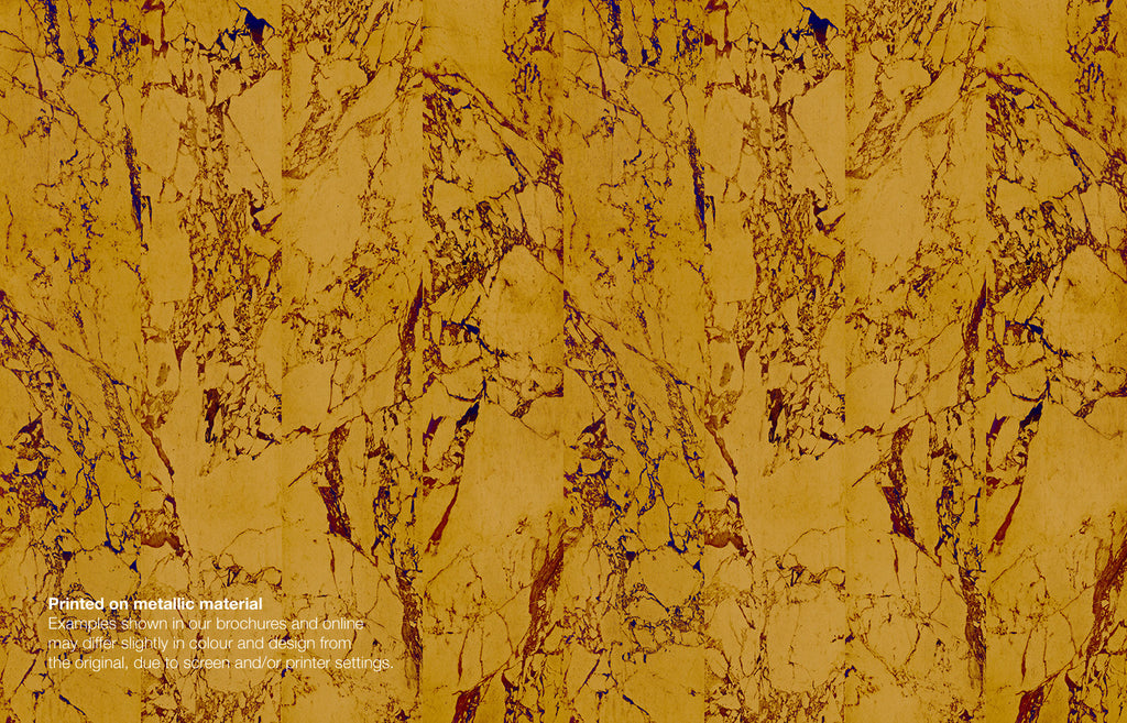 Gold Metallic Marble Wallpaper Australia