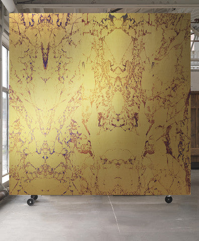 Gold Metallic Marble Wallpaper | Australia