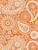 Paisley Crescent Wallpaper by Mini Moderns