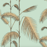 Palm Leaves Wallpaper | Cole & Son 112/2006 in Green & Gold