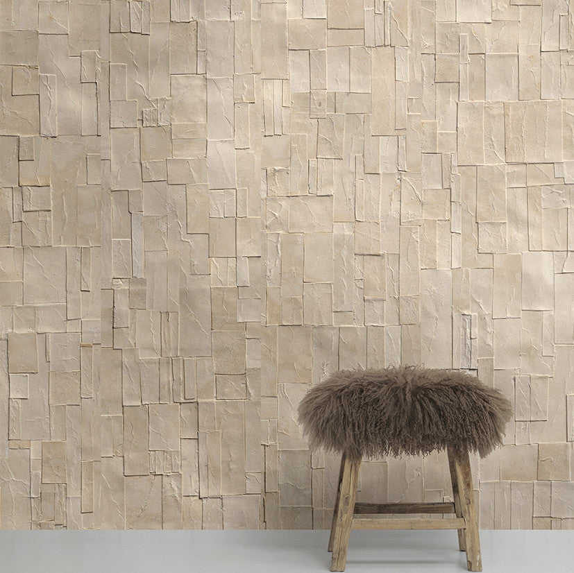 Remixed Wallpaper REM02 by Arthur Slenk & NLXL. A digitally printed wallpaper, inspired by paper.