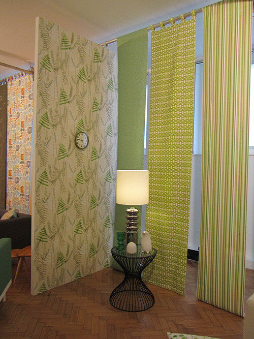 Scion Melinki non woven wallpaper Athyrium 110215 room