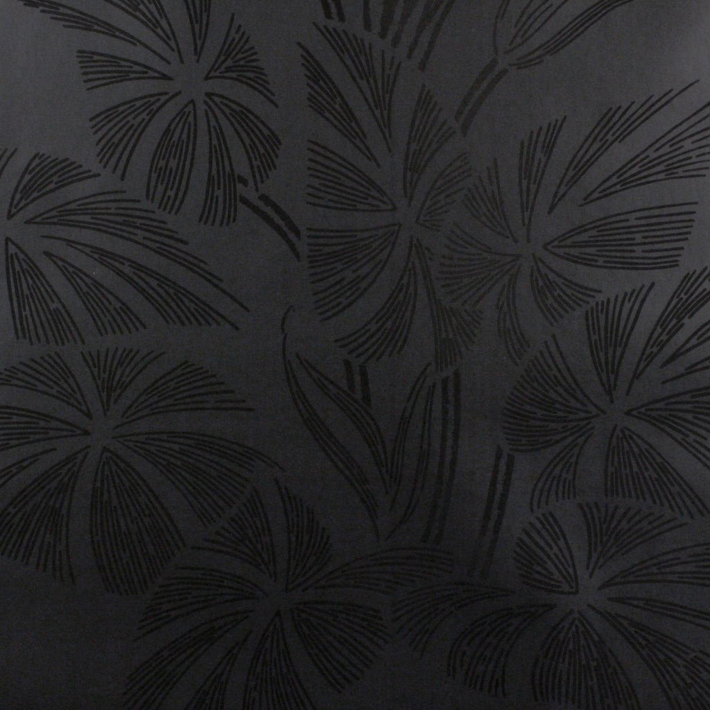 Amazonas Wallpaper by Signature Prints a floral in black