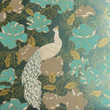 Kismet Peacock Wallpaper by Signature Prints