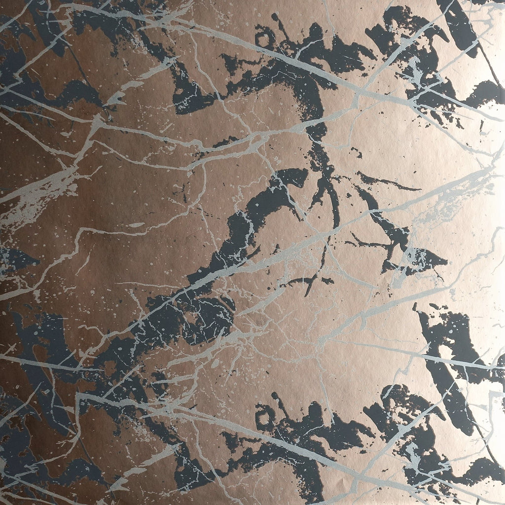 Marble Wallpaper SPW- MA06 on gold/bronze