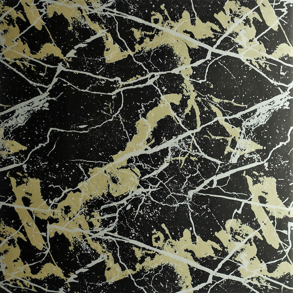 Black Marble Wallpaper by Signature Prints SPW-MA09