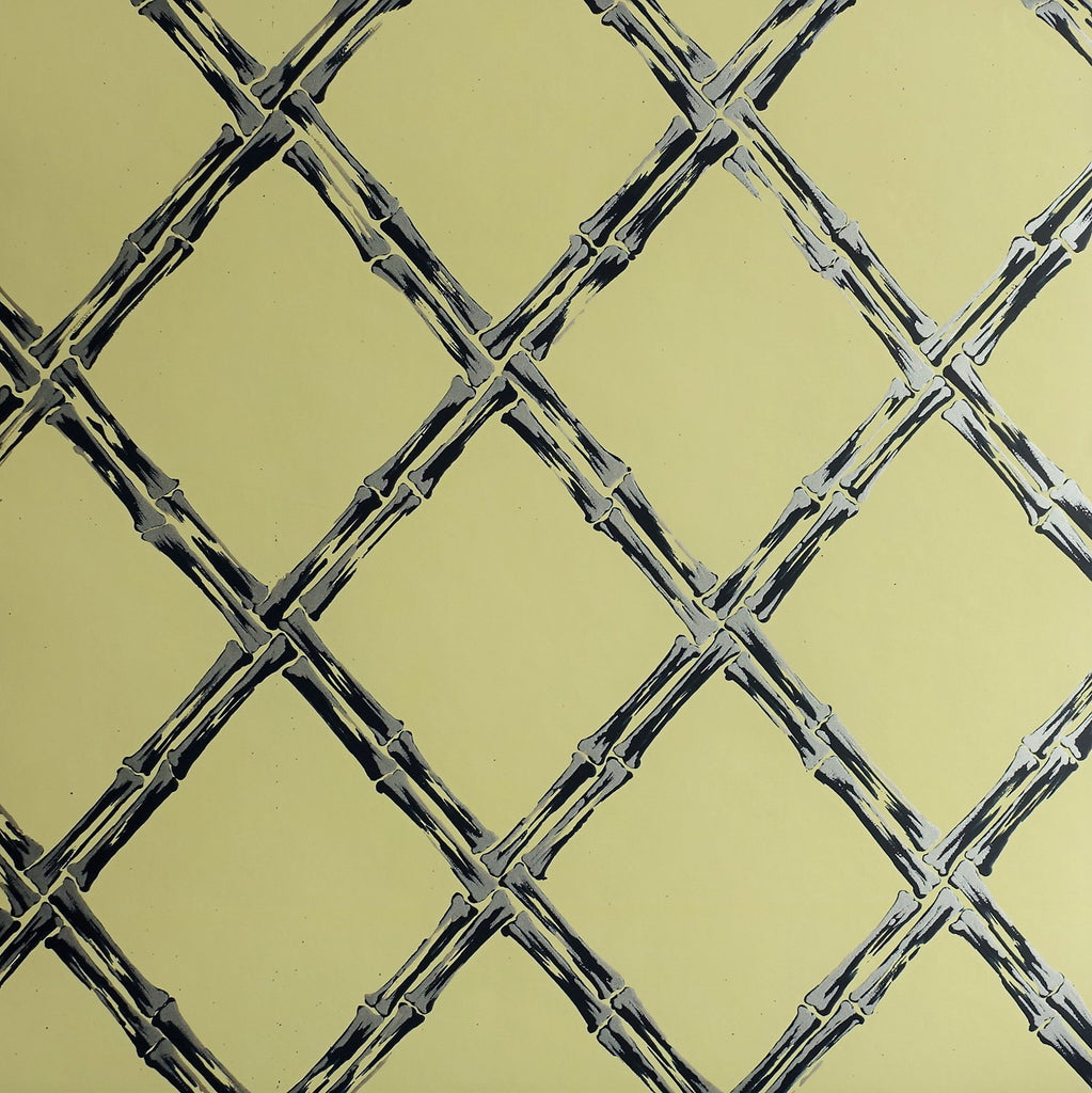 Rattan Wallpaper SPW-RA03 in yellow | Signature Prints