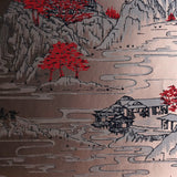 Summer Palace Wallpaper by Signature Prints in Metallic Bronze