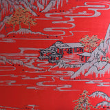 Summer Palace Wallpaper in Red | Signature Prints