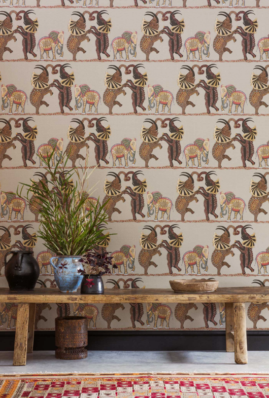 Cole & Son Safari Dance Wallpaper | Ardmore Collection | Australia