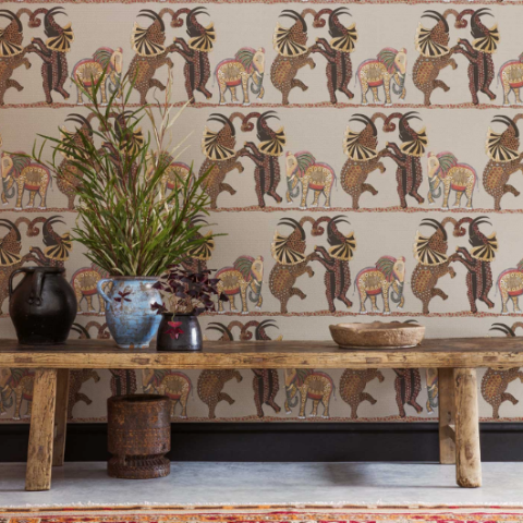 Cole & Son Safari Dance Wallpaper 109/8038
