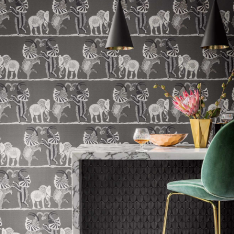 Cole & Son Safari Dance Wallpaper 109/8039 | Australia
