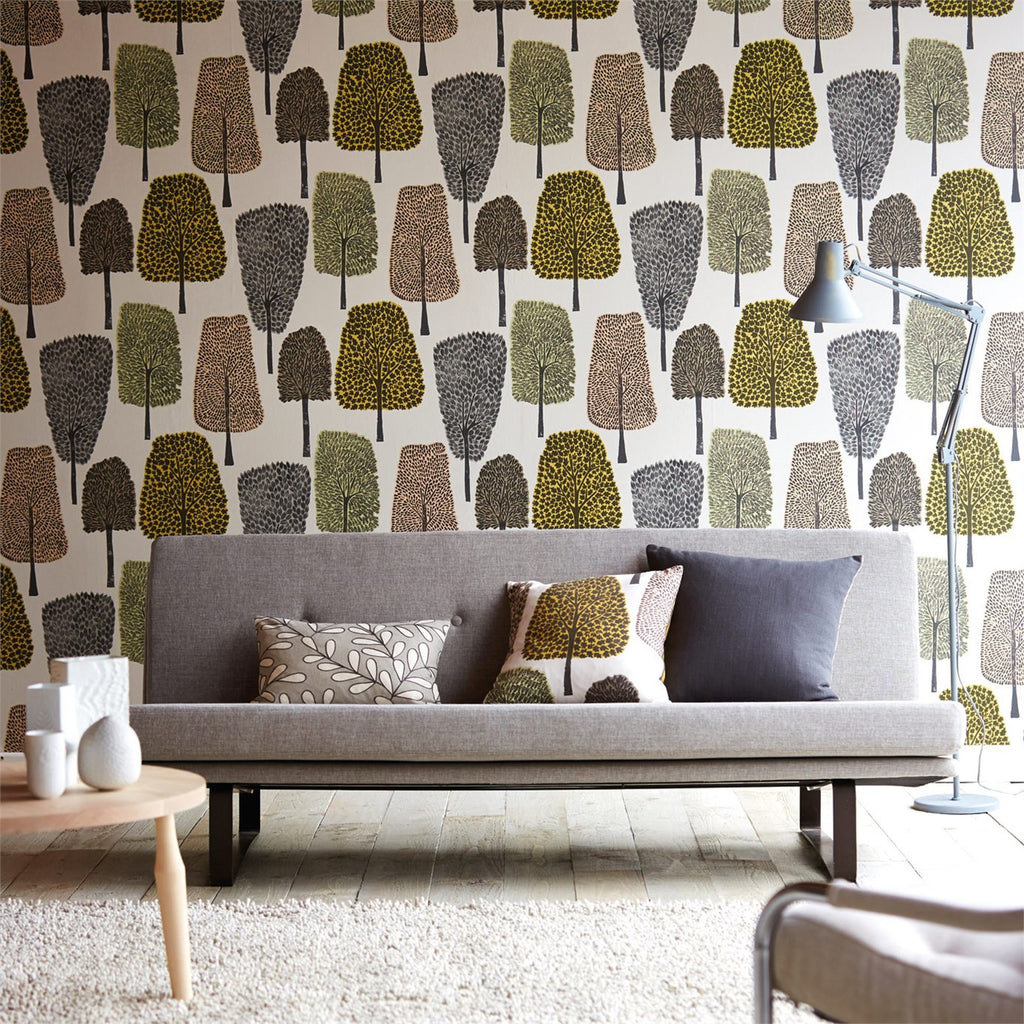 Scion Wallpaper Australia | Cedar in Blush/Toffee/Taupe