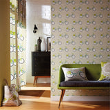 Scion Cykel Wallpaper in Australia. Ivy/Apple/Slate