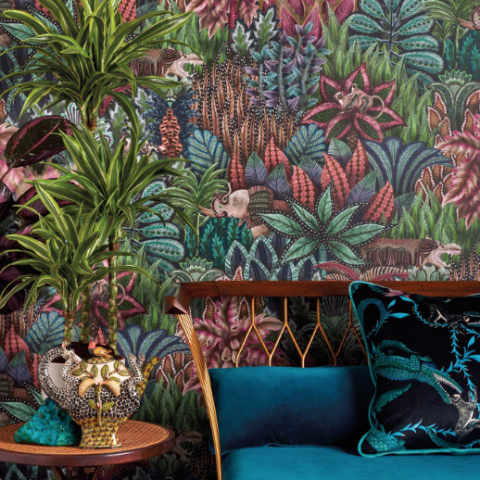 Cole & Son Singita Wallpaper 109/7035 | Ardmore Collection