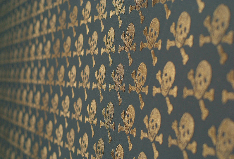 Beware the Moon Skulls 08 wallpaper from Removable Wallpaper