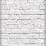 White Brick Wallpaper by Kemra