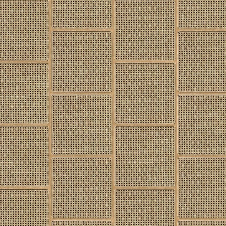 Cane Wallpaper - Square Webbing VOS 15