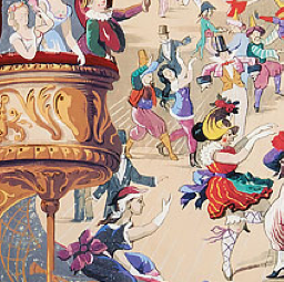 Cole & Son Cabaret Wallpaper 103/7026
