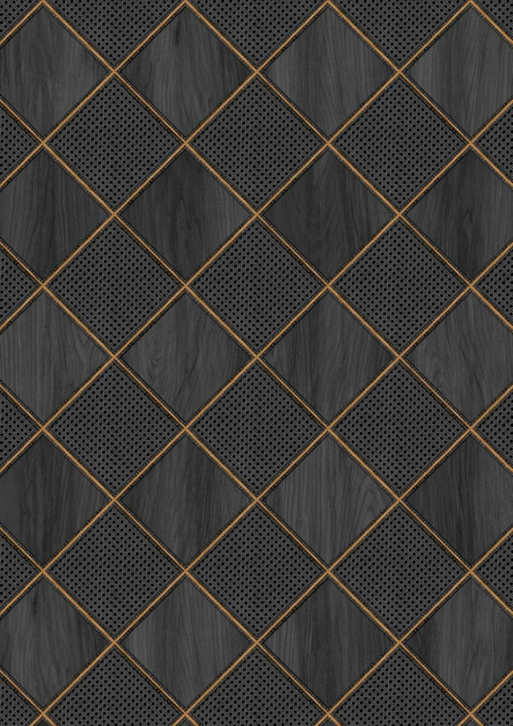 MRV-32 Webbing & Wood Black Wallpaper