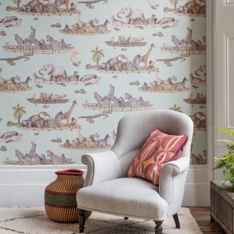 Zambezi Wallpaper 109/14063 | Cole & Son Australia