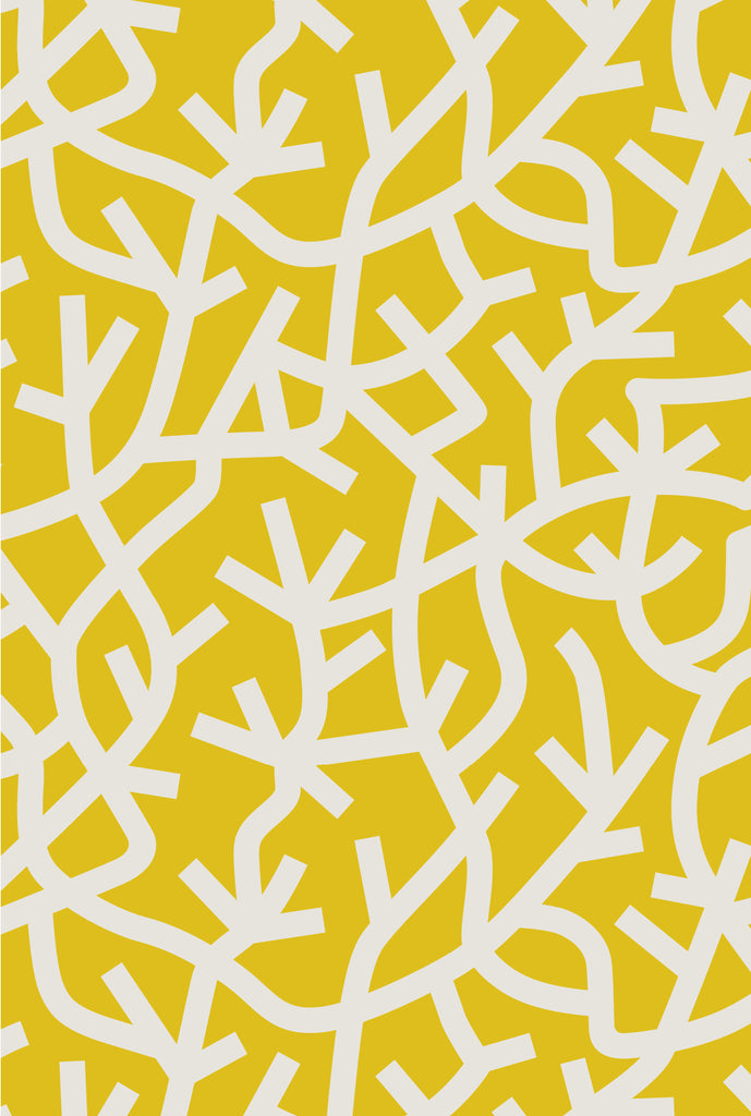 A Forest Wallpaper by Mini Moderns