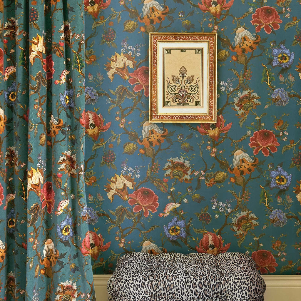 Artemis Petrol Wallpaper House of Hackney Australia